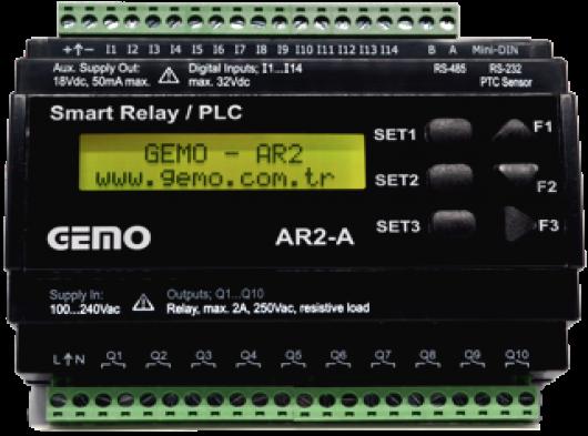 Gemo AR2-A Akıllı Röle