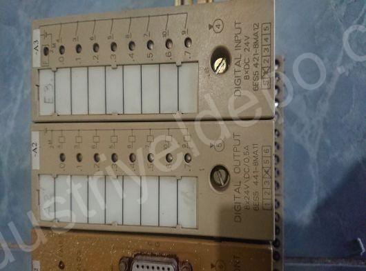 SIEMENS 6ES5 421-8MA12 SIMATIC S5 INPUT MODULE