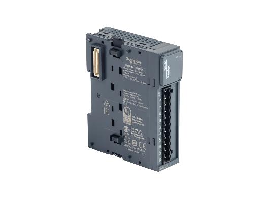 Schneider TM3AQ4 12 bit Analog Çıkış 4 Çıkış (4-20 mA, 0-20 mA, 0-10V) Modül