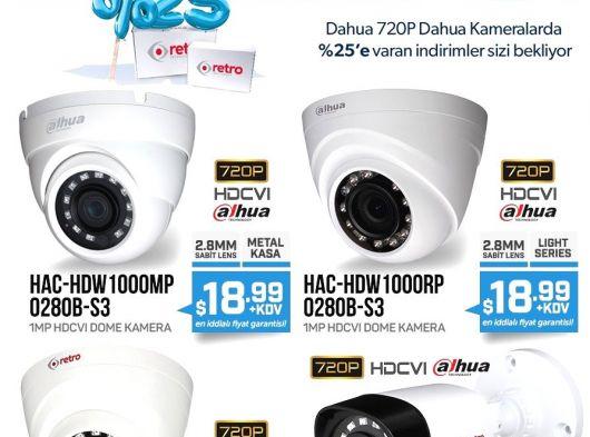 Retro HD Kameralarda İndirimli Fiyatlar 12,99 Dolardan başlayan fiyatlarla
